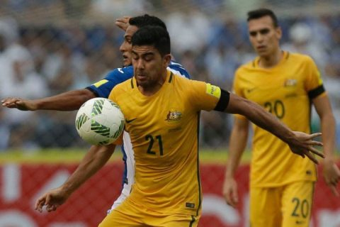 Play-off World Cup liên lục địa: Úc giành lợi thế trước Honduras