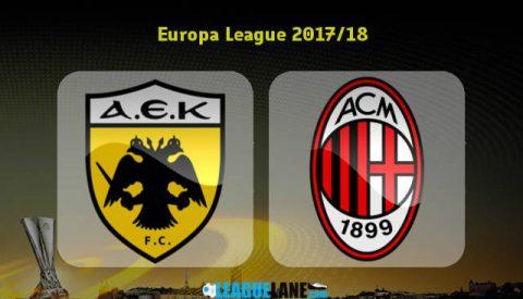 Nhận định bóng đá AEK Athens vs AC Milan, 1h00 ngày 3/11: Lấy lại thể diện