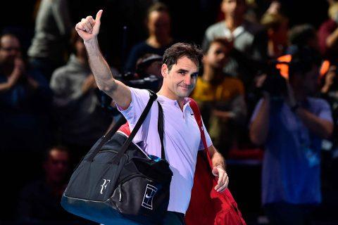 Federer chưa thể có trận chung kết ATP Finals thứ 11