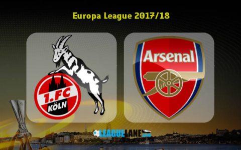 Nhận định bóng đá Koln vs Arsenal, 3h05 ngày 24/11: Vé chờ Pháo thủ
