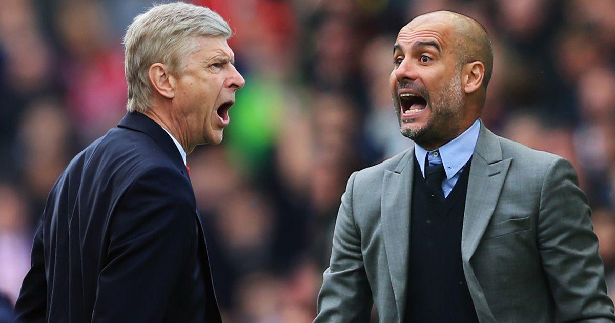 Guardiola đá xoáy HLV Wenger, hết lời khen ngợi Sterling