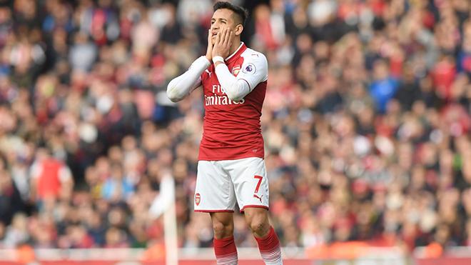 Giờ Sanchez đã chẳng đủ trình đá chính ở Man City