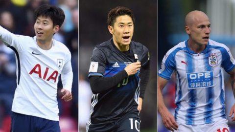 Cầu thủ xuất sắc nhất châu Á 2017: Son Heung-min đua tranh Kagawa