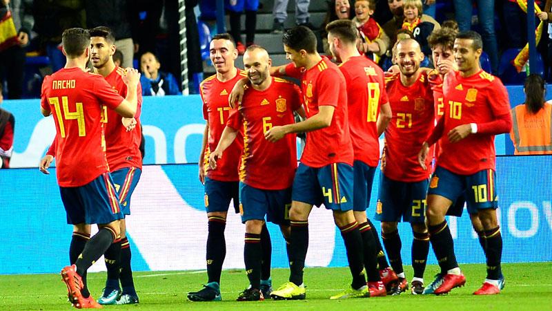 Tây Ban Nha đủ sức dựng 3 đội hình hùng hậu tham dự World Cup
