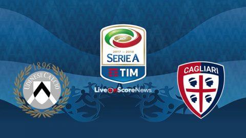 Nhận định Udinese vs Cagliari, 21h00 ngày 19/11: Hiểm họa Friuli