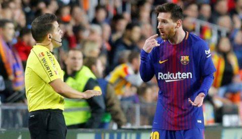 5 điểm nhấn Valencia – Barca: Khi công nghệ Goal-line cần được sử dụng