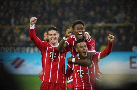 Hàng công thăng hoa, Bayern đánh sập Signal Iduna Park