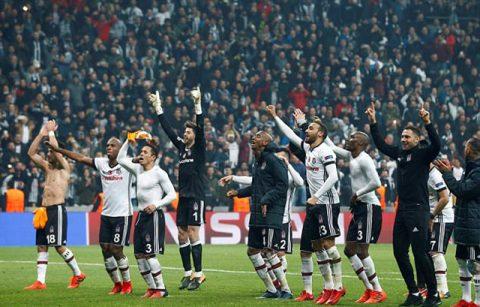 Bảng G Champions League: Besiktas vào vòng 1/8, Monaco sớm bị loại