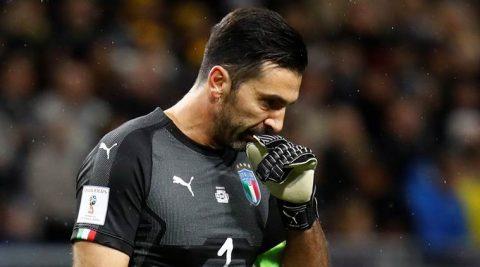 Buffon e sợ nỗi ám ảnh xưa trước nguy cơ không thể tham dự World Cup