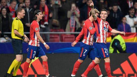 Khuất phục Roma, Atletico sống lại hy vọng