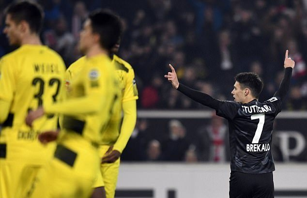 Thua sốc Stuttgart, Dortmund tiếp tục chìm sâu trong cơn khủng hoảng