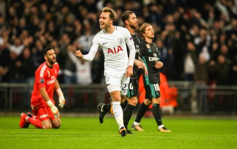 Chấm điểm Tottenham trận găp Real: Ấn tượng Eriksen, Winks, Trippier
