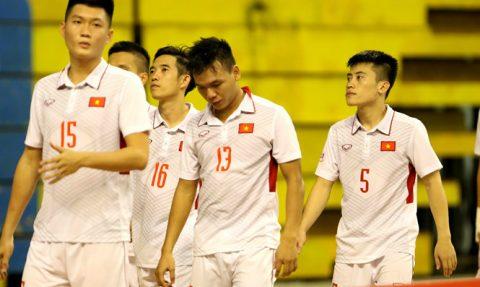 Bại trận trước Myanmar, ĐT Futsal Việt Nam kết thúc giải trong thất vọng