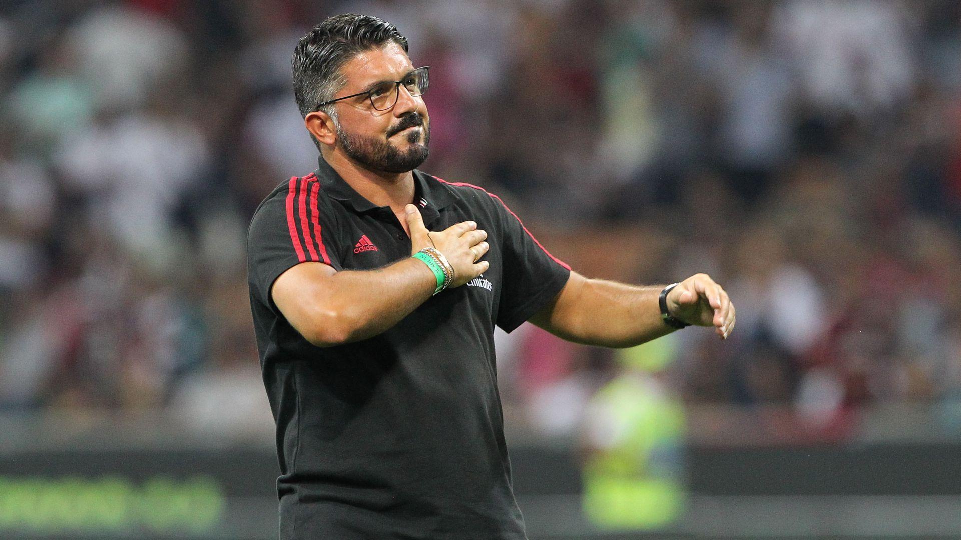 """Chưa đá, """"Tê giác"""" Gattuso đã dọa các học trò"""