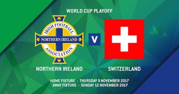 Nhận định Bắc Ireland vs Thụy Sỹ, 02h45 ngày 10/11: Giông tố đất khách