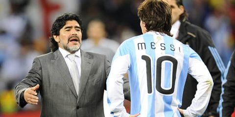 Maradona BẤT NGỜ muốn trở lại dẫn dắt tuyển Argentina