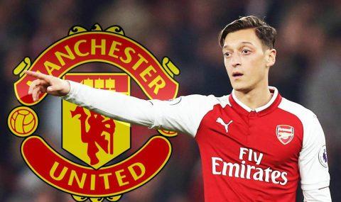 CỰC NÓNG: Ozil xác nhận đang đàm phán với Man Utd