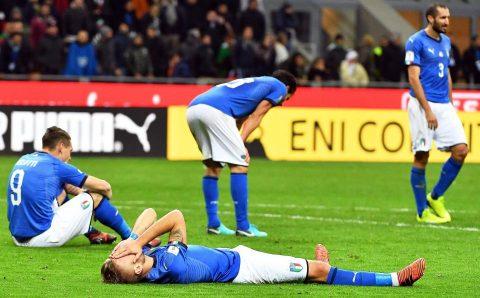 Bất lực trước Thụy Điển, Italia chính thức lỡ hẹn với nước Nga