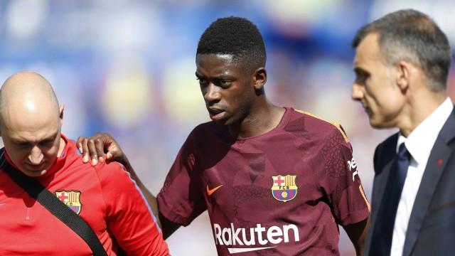 """Barca: Ấn định ngày """"bom tấn"""" Dembele trở lại"""