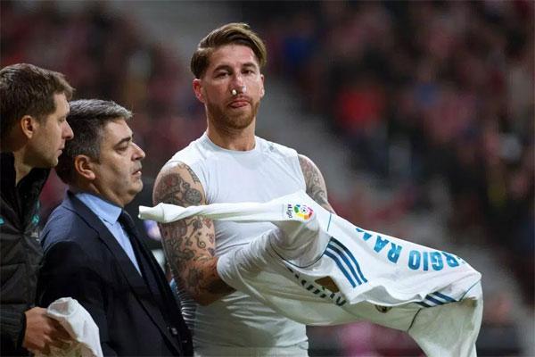 Sergio Ramos đem tin dữ đến cho Real Madrid