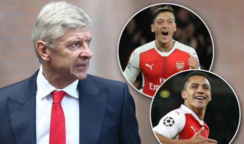NÓNG: Wenger lên tiếng về tương lai của Sanchez và Ozil