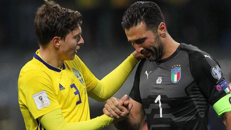 Thất bại cay đắng trước Thụy Điển, Buffon tuyên bố giải nghệ