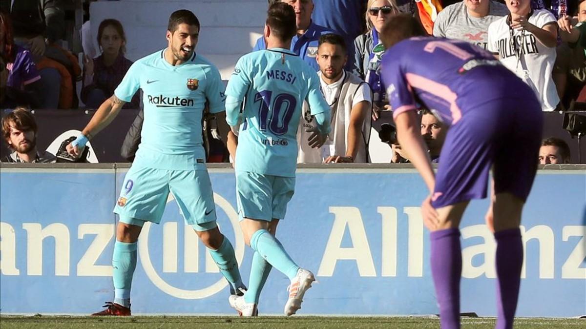 Suarez thông nòng, Barca vững vàng trên đỉnh La Liga
