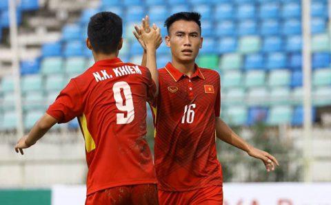 Minh Bình tỏa sáng, U19 Việt Nam đánh bại U19 Macau