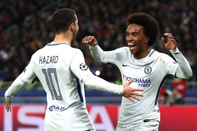 Willian chói sáng, Chelsea dễ dàng vùi dập tân binh Champions League
