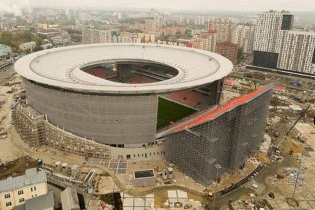 """Chủ nhà Nga ra mắt sân bóng """"dị nhất"""" thế giới tại World Cup 2018"""