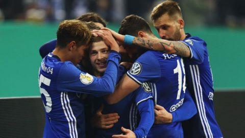 Nối dài mạch trận bất bại, Schalke vào tứ kết cúp Quốc gia Đức