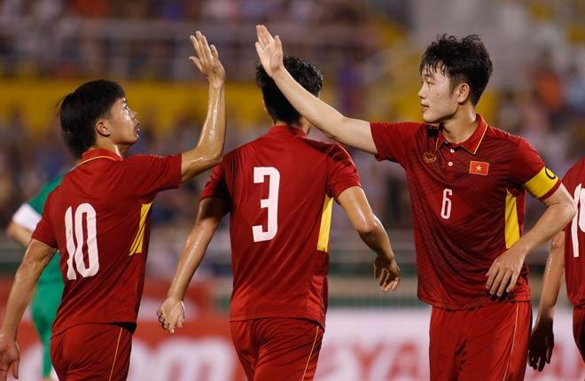 Lương Xuân Trường được chọn mang băng đội trưởng U23 Việt Nam