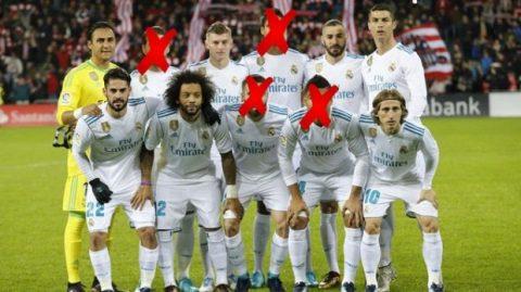 """Zidane đang bế tắc với bài toán """"vá"""" hàng phòng ngự"""