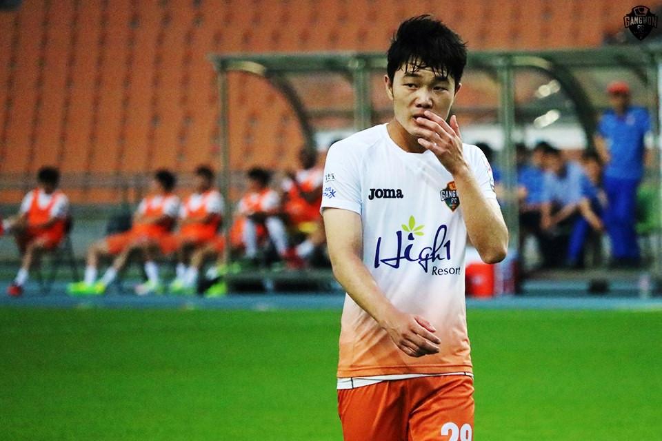 Hết hợp đồng với Gangwon, Xuân Trường chưa biết về đâu
