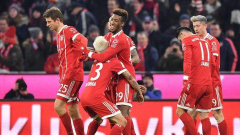 Sau vòng 14 Bundesliga: Hùm xám vững ngôi vương; Dortmund trượt dài