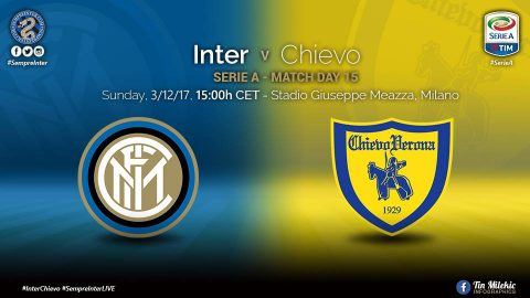 Nhận định Inter Milan vs Chievo, 21h00 ngày 03/12: Cẩn thận với Lừa bay