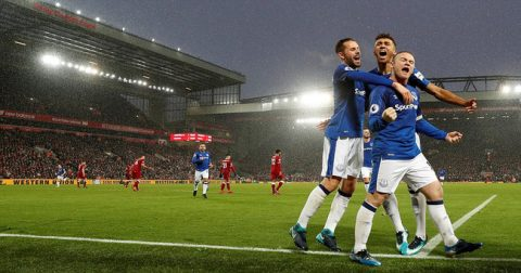 Penalty oan nghiệp, Rooney giúp Everton thoát thua trước Liverpool