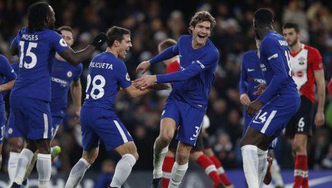 Alonso lập siêu phẩm sút phạt, Chelsea nhọc nhằn đánh bại Southampton