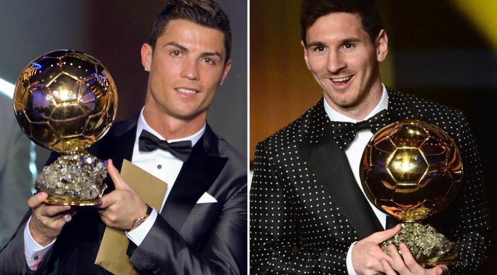 Ronaldo, Messi và gần một thập kỷ thống trị Quả bóng vàng
