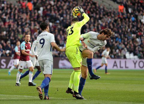 Chelsea hết bài nhận thất bại 0 – 1 trước West Ham