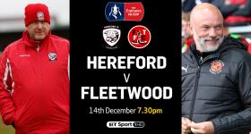 Nhận định bóng đá Hereford vs Fleetwood Town, 2h45 ngày 15/12: Không còn cổ tích