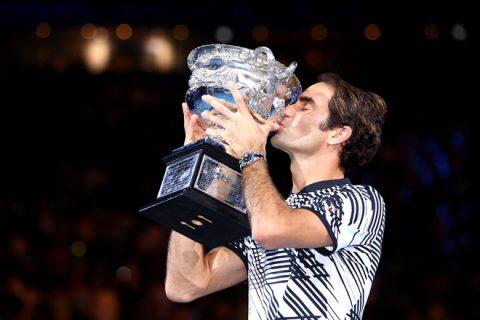 Roger Federer – ngôi sao MVP của làng quần vợt thế giới năm 2017