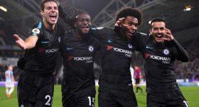 Hạ đẹp Huddersfield, Chelsea tạm thời bằng điểm với M.U