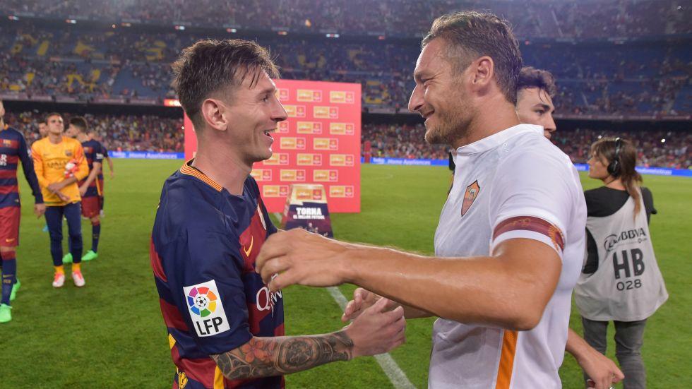 Totti: 'Đừng cho Ronaldo biết chuyện tôi nói Messi hay nhất thế giới'