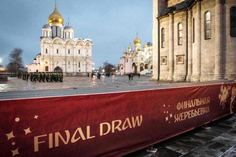 Lễ bốc thăm World Cup 2018 giữa nghi vấn bị dàn xếp