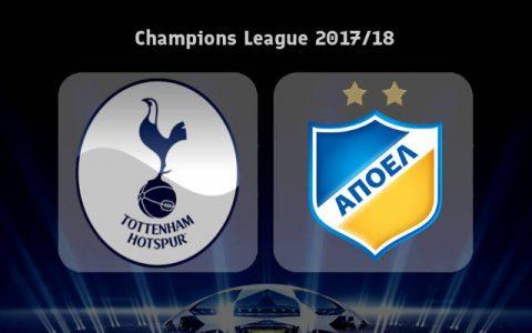 Nhận định Tottenham vs APOEL Nicosia, 02h45 ngày 07/12: Gà trống dùng hàng dự bị…