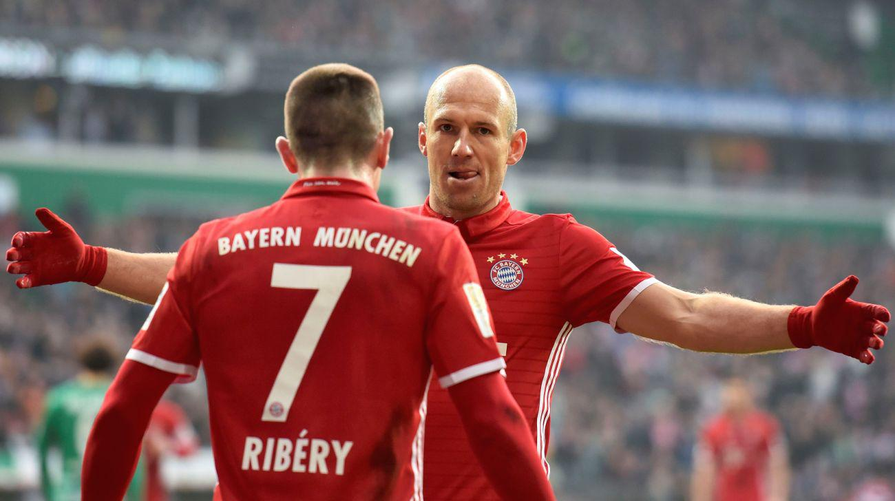 Triều đại 'Robbery' sắp tàn ở Bayern Munich