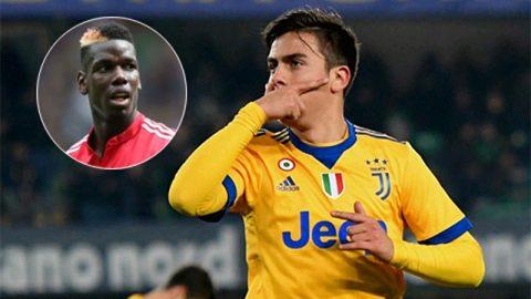 Chuyển nhượng ngày 31/12: M.U muốn có Dybala; Real muốn đổi Bale lấy Kane