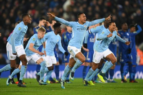 Tứ kết Cúp Liên đoàn Anh: Leicester bị Man City loại cay đắng trên chấm 11m