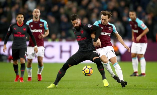 Pháo không thông nòng, Arsenal chia điểm với West Ham ở derby London